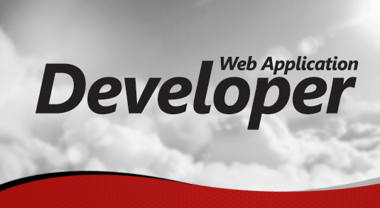 Web Application Developer position available.